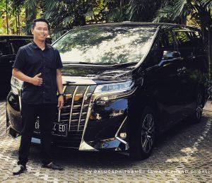 sewa mobil alphard 2018 di Bali