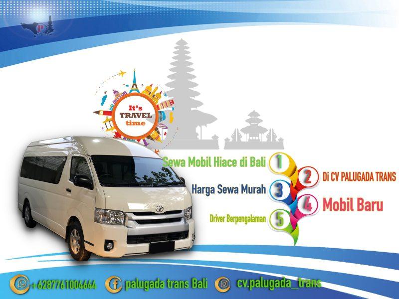 Sewa Mobil Hiace di Bali Murah