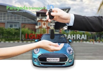 Sewa Mini Cooper lepas kunci di Bali