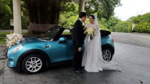 sewa mobil wedding Mini Cooper