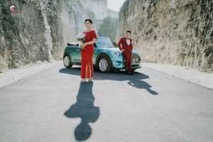 sewa mini cooper wedding